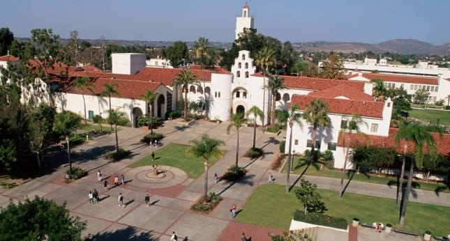 Photo of San Diego State Campus